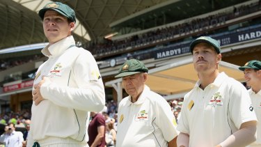 Australia's top players, including Steve Smith (left) and David Warner (right), are unwilling to sign new contracts until an MOU is agreed.