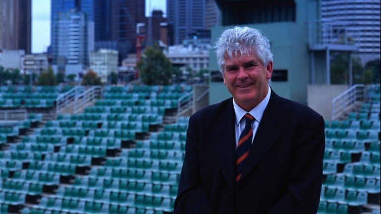 Paul McNamee at Melbourne Park in 2002.