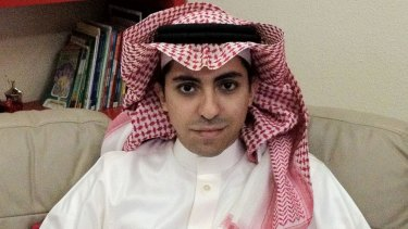 Harsh punishment: Blogger Raif Badawi has been jailed for 10 years and sentenced to flogging for encouraging debate on religious and political matters in Saudi Arabia.