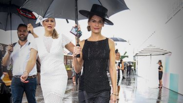 Actor Hilary Swank at Derby Day in 2015.