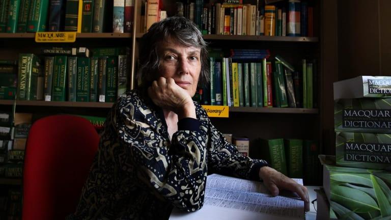 <i>Macquarie Dictionary</i> editor Susan Butler.