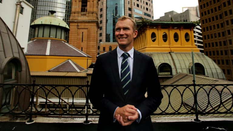 """Change is inevitable"": The new NSW Minister for Planning, Rob Stokes."