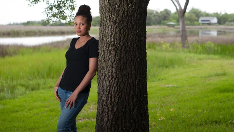 Jesmyn Ward in DeLisle, Mississippi where she grew up.