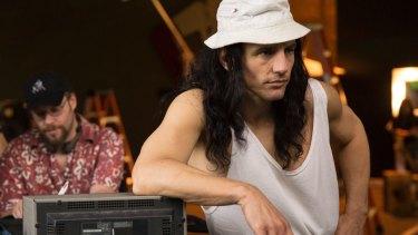 Seth Rogen, left, plays assistant director to James Franco's Tommy Wiseau.
