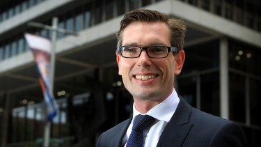 NSW Minister of Finance and Services Dominic Perrottet has been preparing the Land, Information and Property Unit for privatisation.
