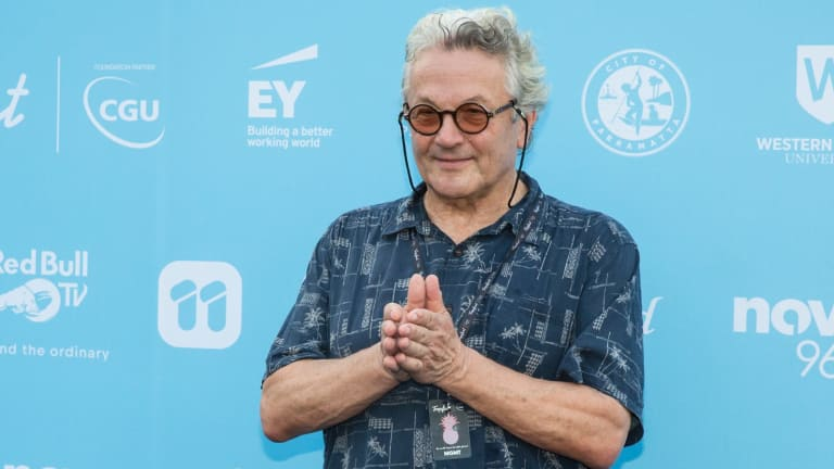 George Miller at this year's Tropfest.