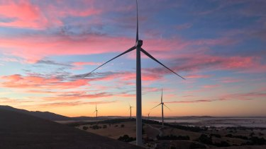 The new turbines can provide 30 per cent more power than turbines such as those at the Ararat wind farm.