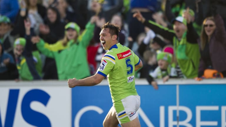 Canberra Raiders winger Jordan Rapana has extended his contract with the club for another two years.