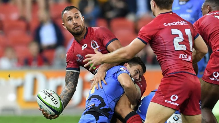 On his way: Quade Cooper is not part of Brad Thorn's plans for next season, but where will he end up?