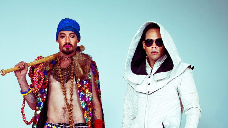 Daniel Johns and Luke Steele.