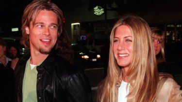 Hollywood dream couple: Pitt was previously married to Aniston.
