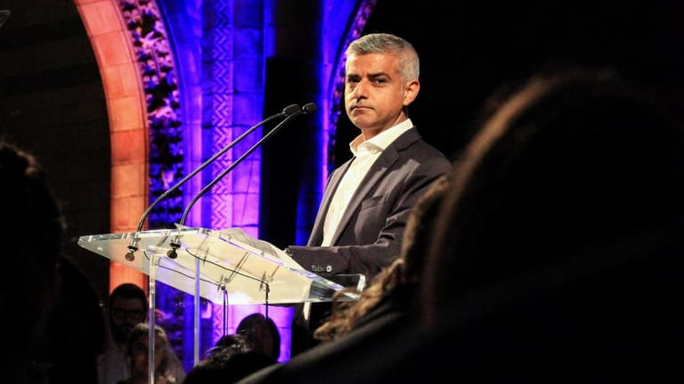 London Mayor Sadiq Khan has renewed his call for more police resources in the British capital.