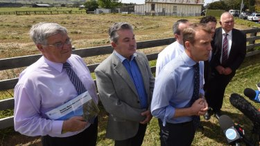 NSW Planning Minister Rob Stokes announced plans to build up to 35,000 homes on 7700 hectares of land south of Campbelltown.