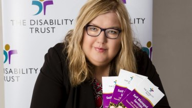 Chief executive of The Disability Trust Margaret Bowen.