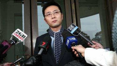 PUP senator Zhenya 'Dio' Wang.