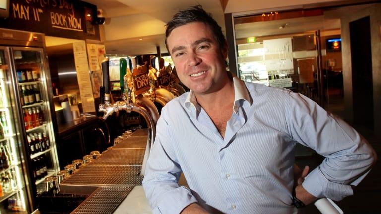 Hotelier Peter De Angelis.