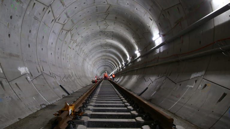 Most of the proposed metro line is expected to run through tunnels.