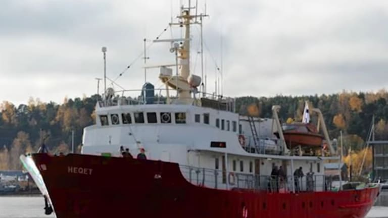 The Defend Europe ship anti-extremists say will put lives at risk.