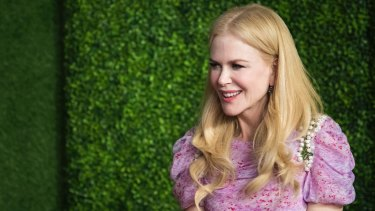 Nicole Kidman is among this year's Australian nominees.