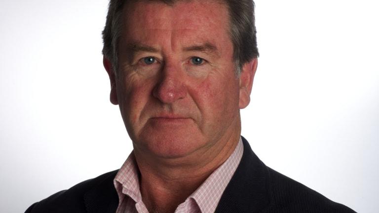 Veteran journalist Steve Barrett.