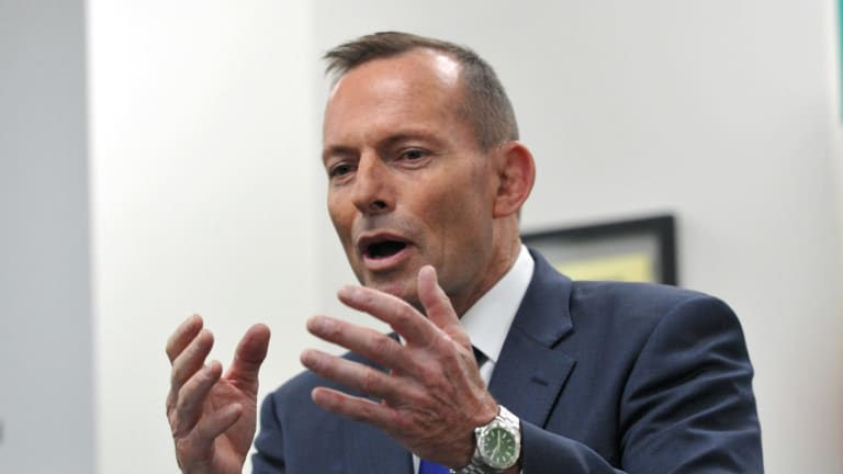 Prime Minister Tony Abbott is floundering in opinion polls.