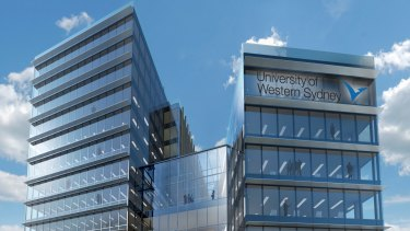 The University of Western Sydney is expanding and has unveiled plans for a new building in Parramatta.