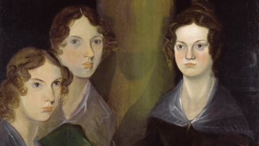 The Bronte sisters, Anne, Emily and Charlotte, as painted by their brother Branwell.