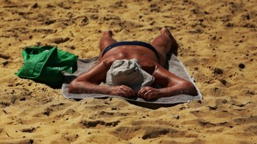 The mercury is tipped to hit 35 degrees on Monday.