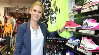 The sporting goods division at Super Retail is run by Erica Berchtold.