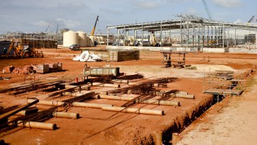 Lynas has begun ramping up production at its phase two processing unit, which is a drag on costs.