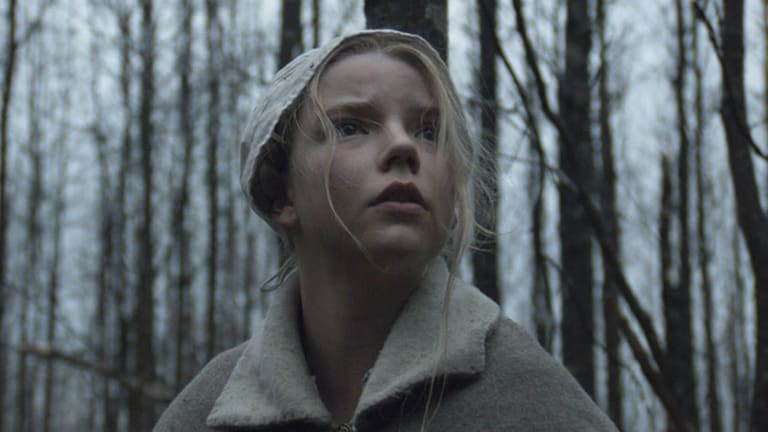 Anya Taylor-Joy in <i>The Witch</i>.