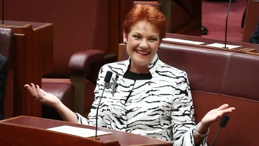 One Nation leader Pauline Hanson welcomed the compromise.