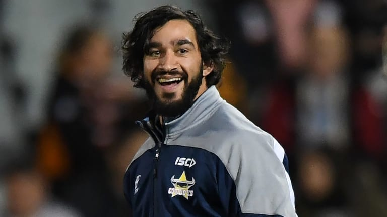 He's back: Thurston missed the second half of 2017 with an injured shoulder.