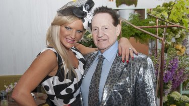 Businessman Geoffrey Edelstein and his former wife and reality TV star Brynne Edelsten, who has been charged with drug offences.