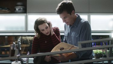 'It's really hard not to have chemistry with people like that': McAdams with Bateman in Game Night.