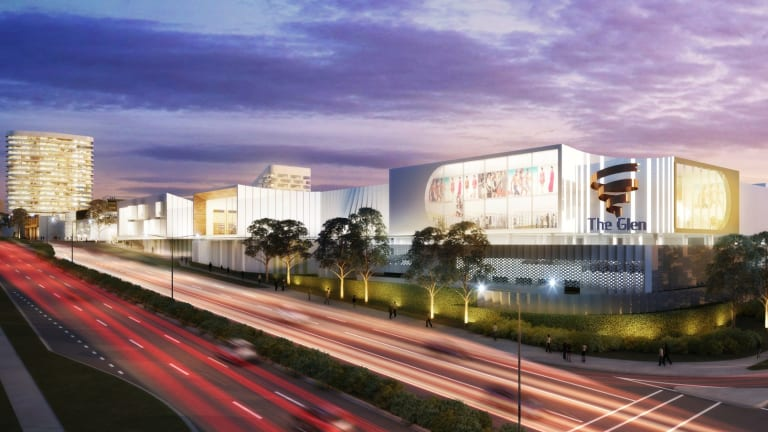 The Glen shopping centre, Melbourne, has a planning permit application, made in conjunction with co-owner Perron Group, for a $500 million mixed use redevelopment.
