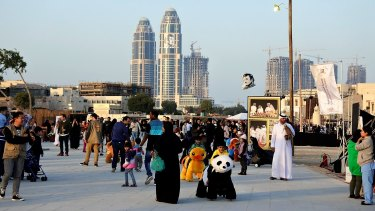 Doha, Qatar. The Canberra Times toured the country ahead of Qatar Airways launching flights to Canberra in February.