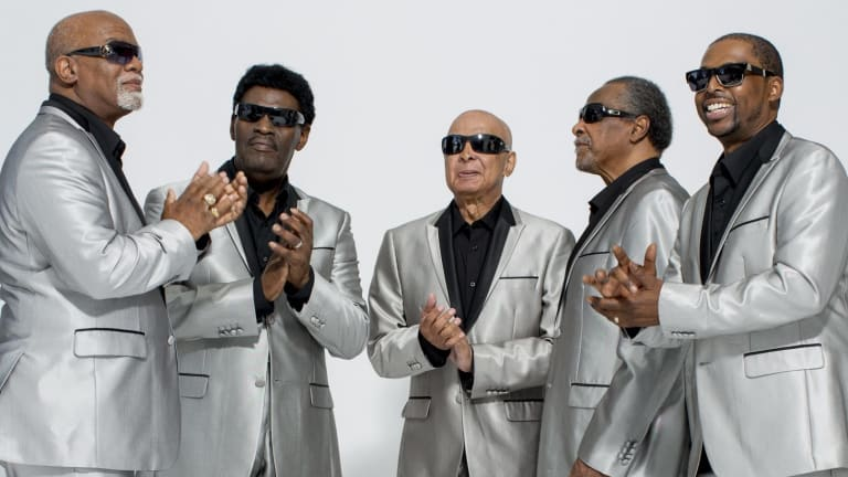 The Blind Boys of Alabama played initially to black audiences because at that time, in the south, they were the only gigs they could get.