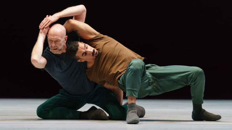 Christopher Roman and Rauf Yasit in A Quiet Evening of Dance.