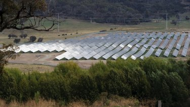 Royalla Solar Farm - support is generally strong from large-scale solar, survey finds.