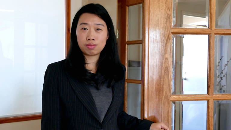 Journalist from the Sydney office of the Epoch Times Lorrita Liu, who was asked to leave a Fair Work Ombudsman function by Chinese consular officials