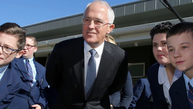 Prime Minister Malcolm Turnbull on Monday.