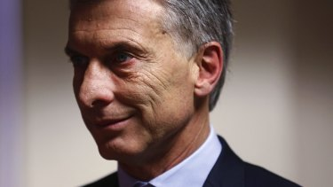Mauricio Macri, Argentina's president, has reiterated his country's claim on the Falkland Islands.