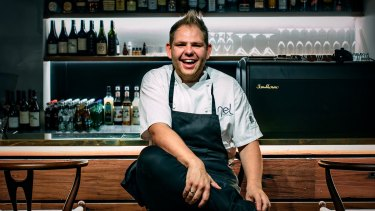 Head chef Nelly Robinson of Nel Restaurant in the Sydney CBD.