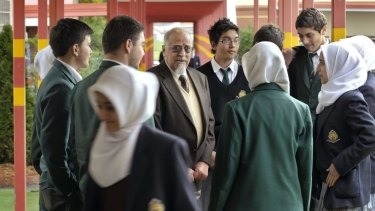 Salah Salman (brown jacket) was heavily criticised in the judgment.
