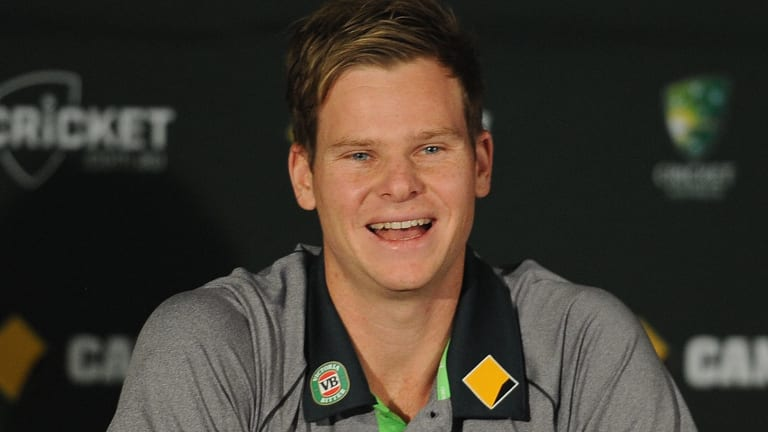 Quiet achiever: Steve Smith has increased in confidence over the last few years and had been tipped to inherit the captaincy from Michael Clarke.