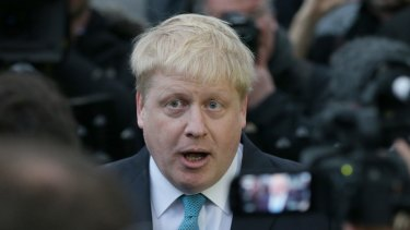 London mayor Boris Johnson said on Sunday he was joining a campaign to encourage Britain to leave the EU –  posing a direct challenge to David Cameron.