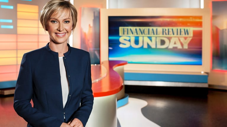 Weekend Today co-host Deb Knight used to front a finance program on Nine.