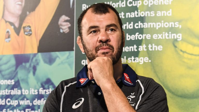 """Michael Cheika: """"It's really important we try to find a place where we can see him play and keep him available for Australia."""""""