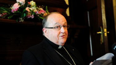 Adelaide Archbishop Philip Wilson.